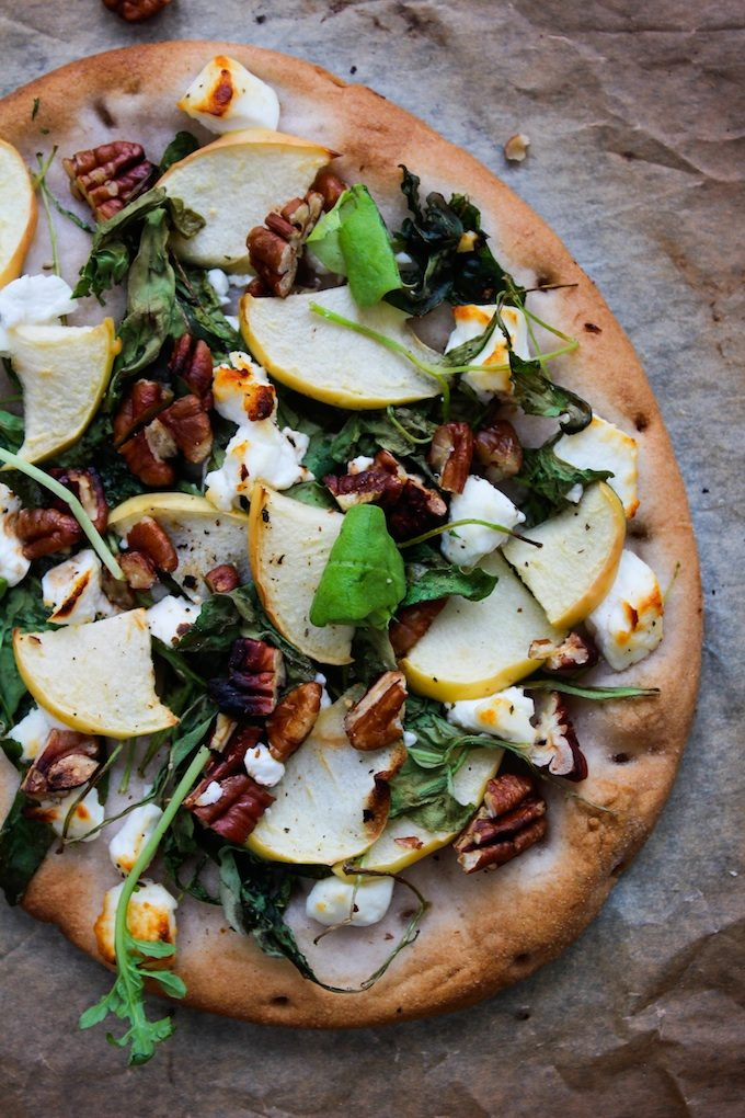Apple and Goat Cheese Flatbread