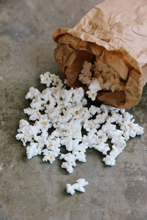 The easiest way to make popcorn
