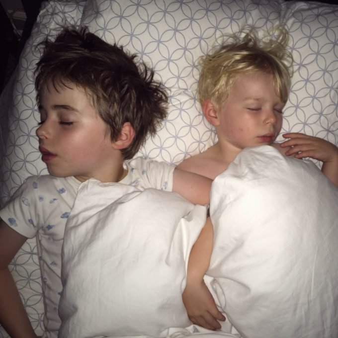 Kids Sharing a Bed