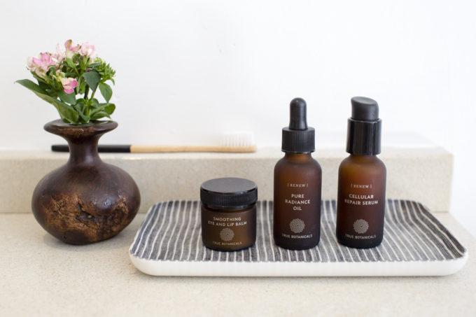 True Botanicals skincare