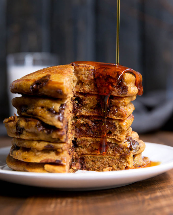 Pumpkin Chocolate Chip Pancakes | A Cup of Jo
