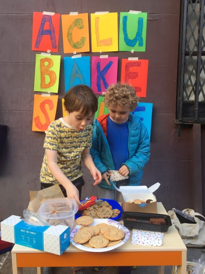 Bake Sale with Kids