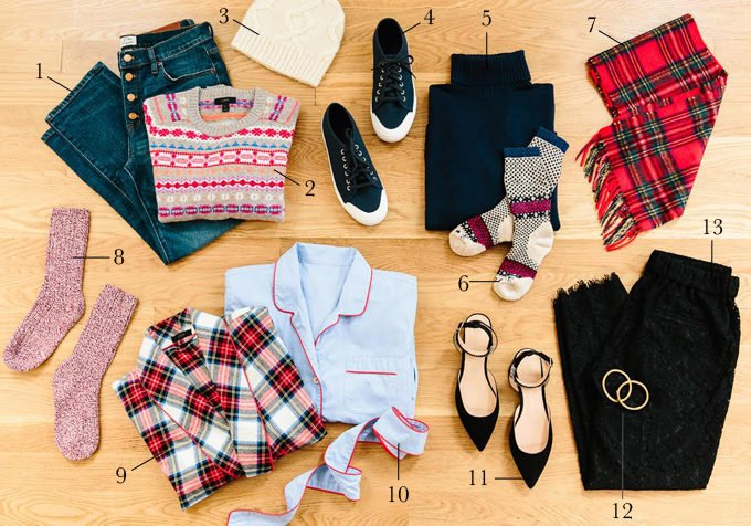 Holiday Packing List