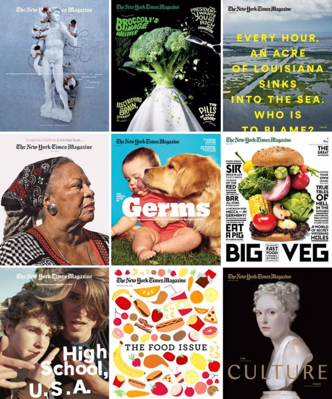 Best New York Times Magazine covers
