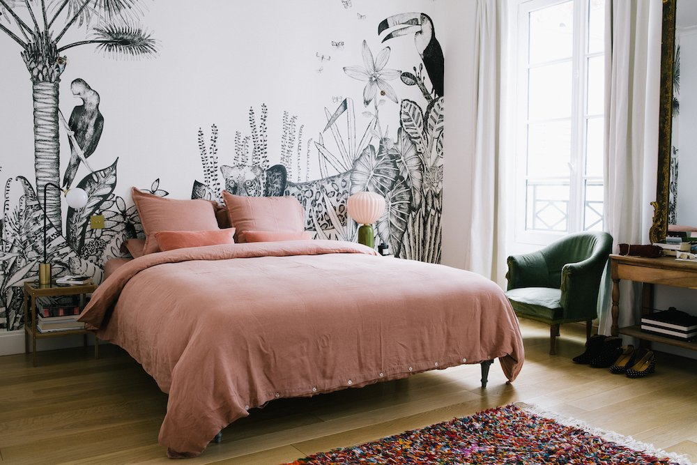 Morgane Sezalory's Paris Apartment