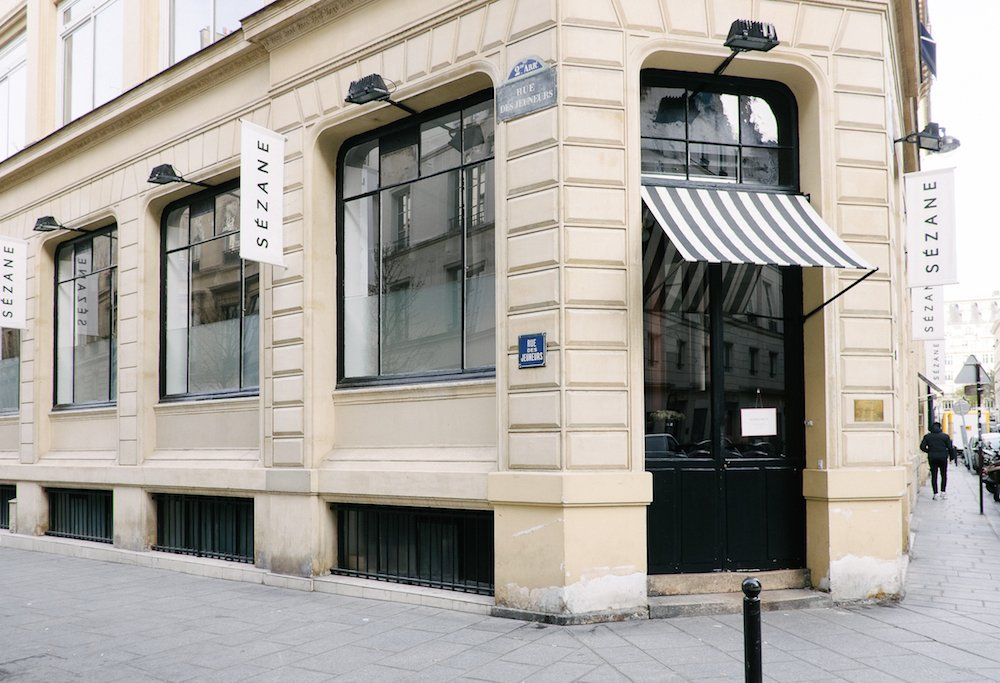 Sezane Store in Paris