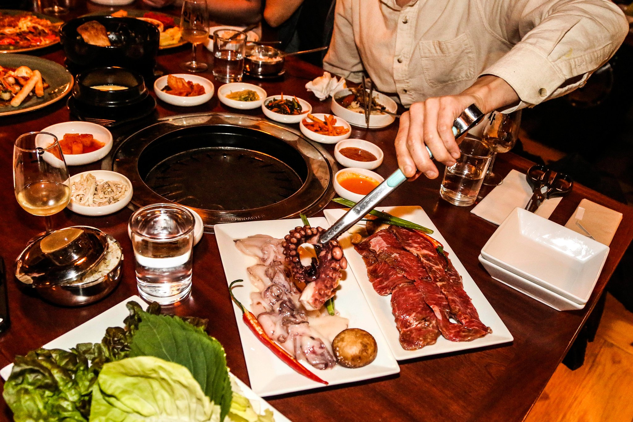 Korean Restaurant Where You Cook Your Own Food