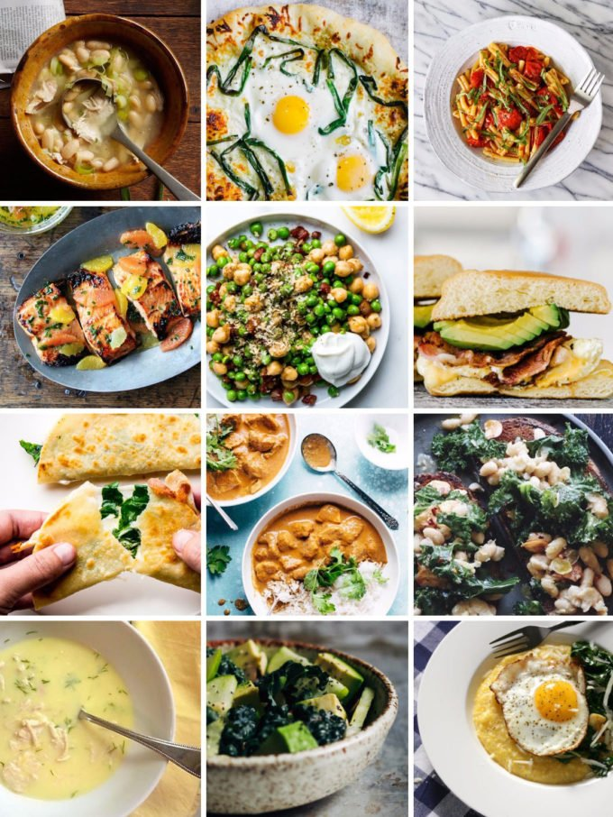 12 Easy Dinners