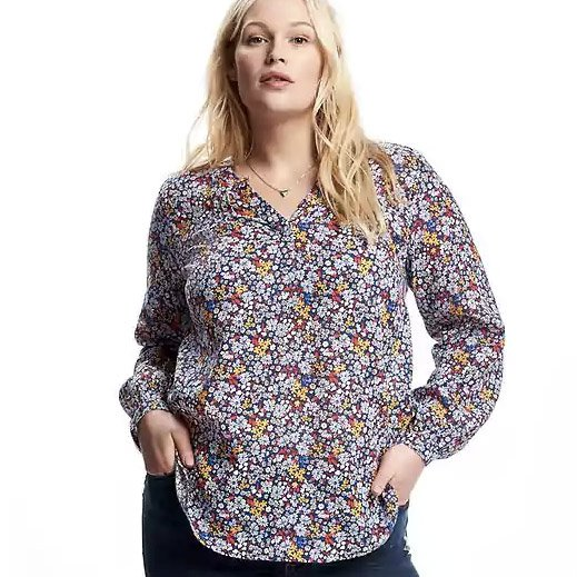 Gap Floral Shirt