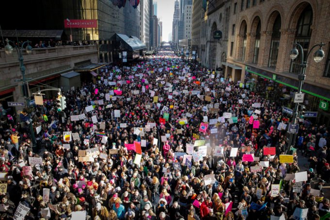 Women's March in New York