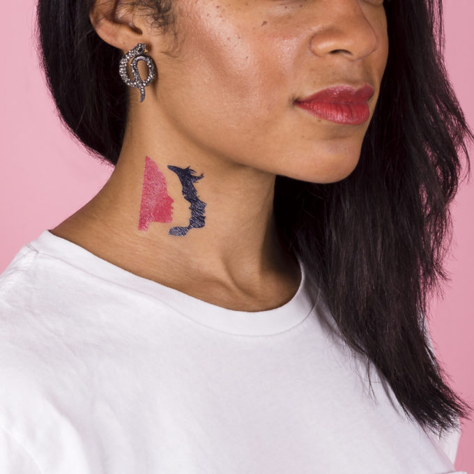 Women's March on Washington Tattly temporary tattoos