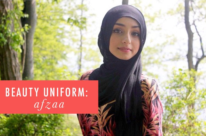 Afzaa Motiwala Beauty Uniform