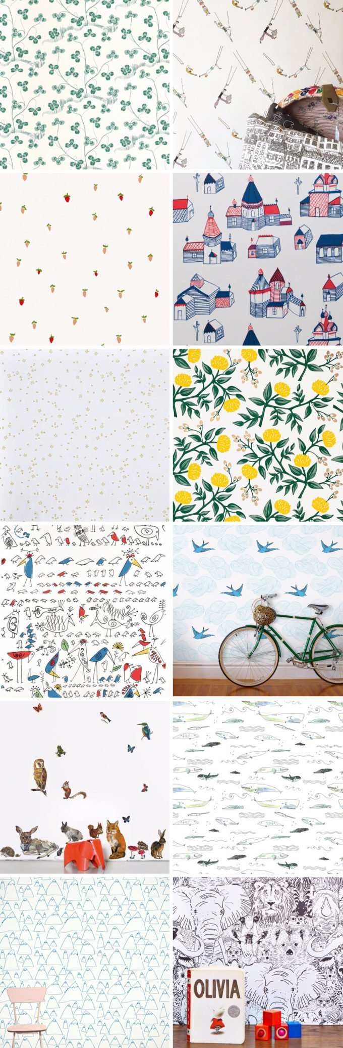 13 Great Wallpapers for Kids