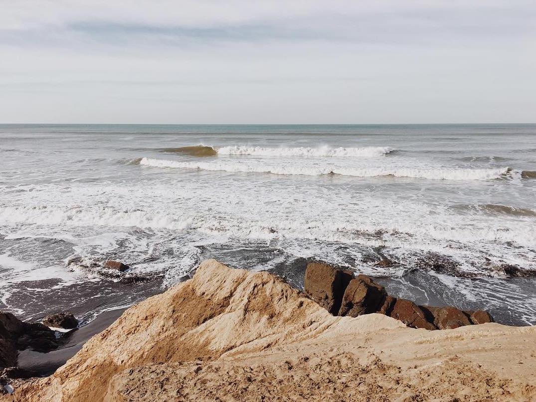 Lena Corwin beach photo