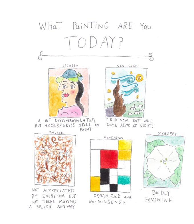 Pop Quiz: What Painting Are You Today?