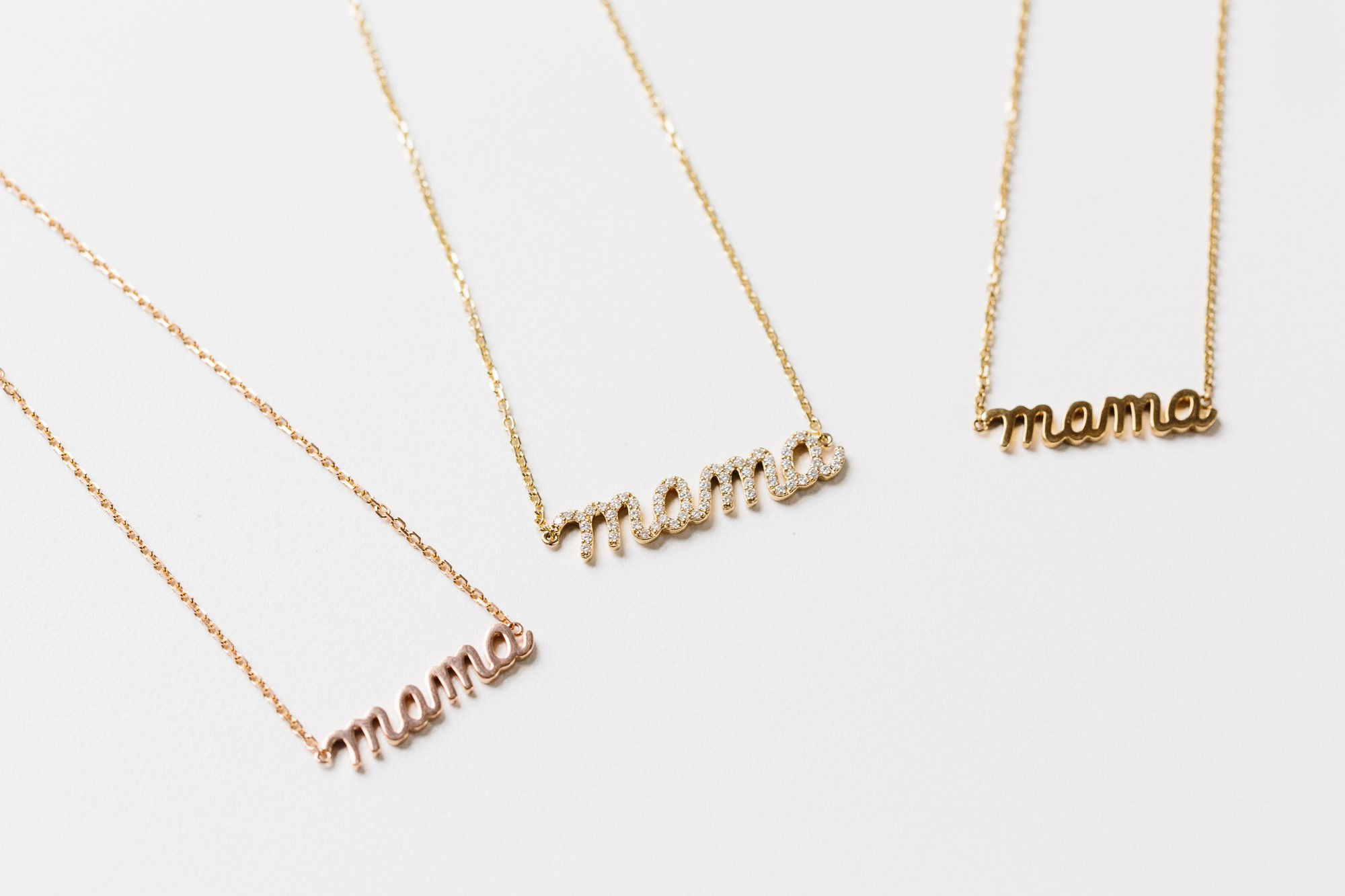 necklaces gold necklace meaningful mini tag products collections tiny