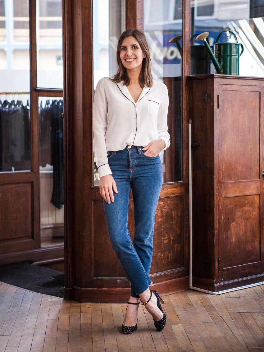 the magic of french jeans a cup of jo