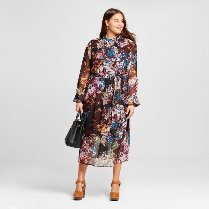 Who What Wear plus-size dress at Target