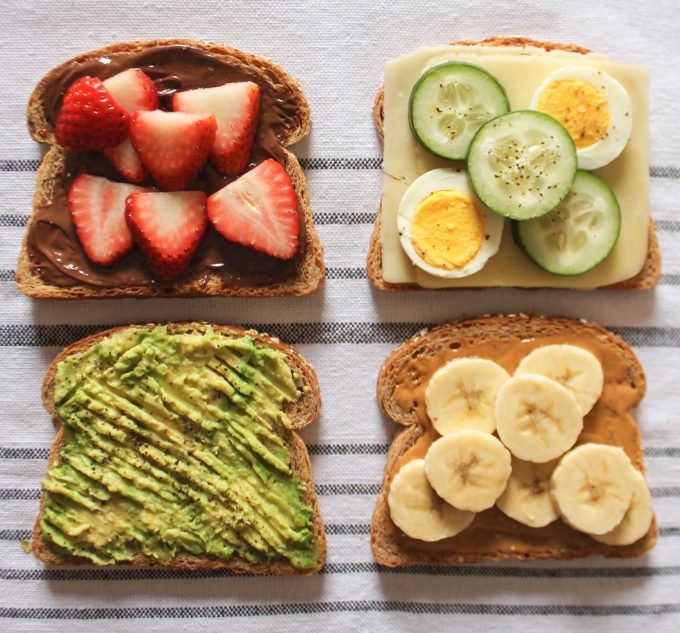 Breakfast Idea: Toast Spread