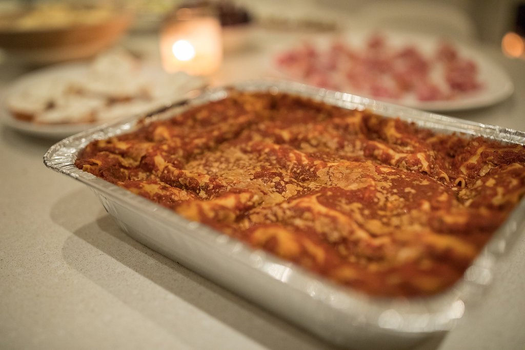 Lasagna Dinner Party Ideas Part - 50: A Very Easy Dinner Party