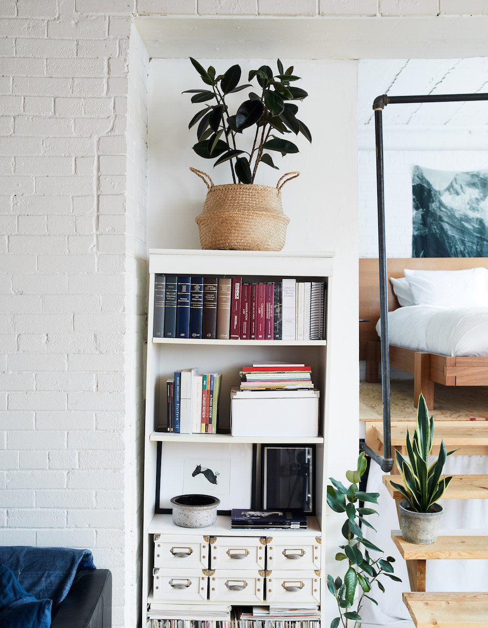 A Book-Filled Loft in Toronto