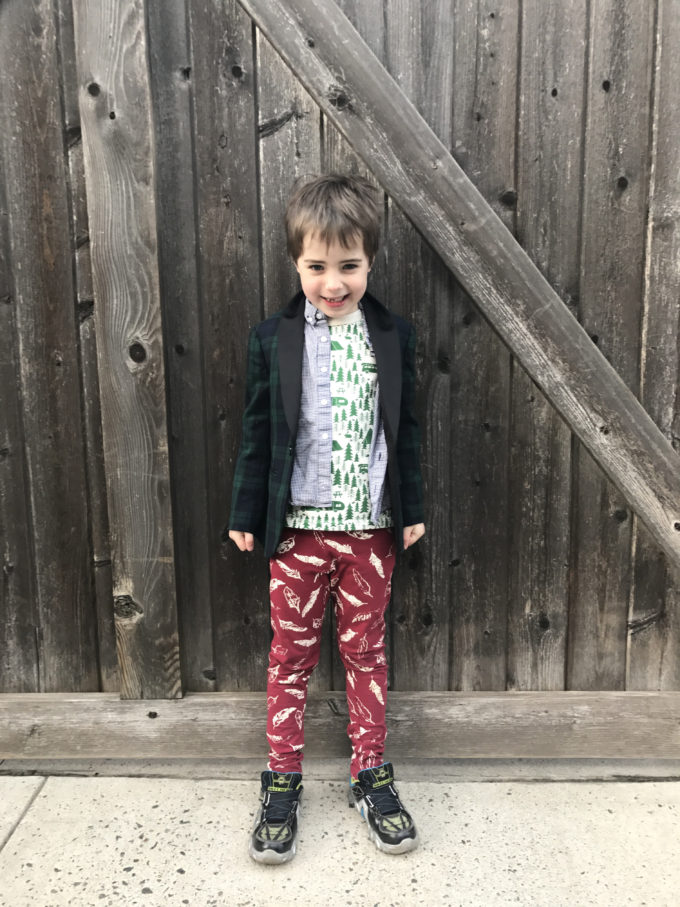 A Week of Outfits: Toby