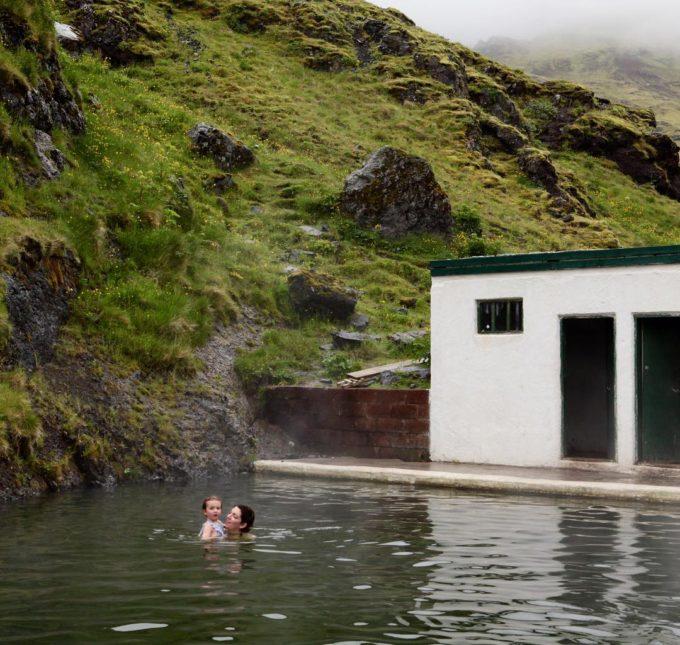 Iceland pools