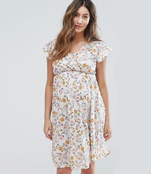 f1b738d36ad Maternity Clothes · Floral Dress