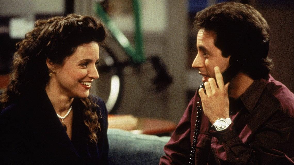 Seinfeld Elaine datovania medzeru