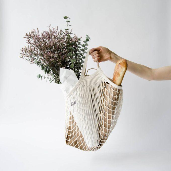 Parisian Net Cotton Bag