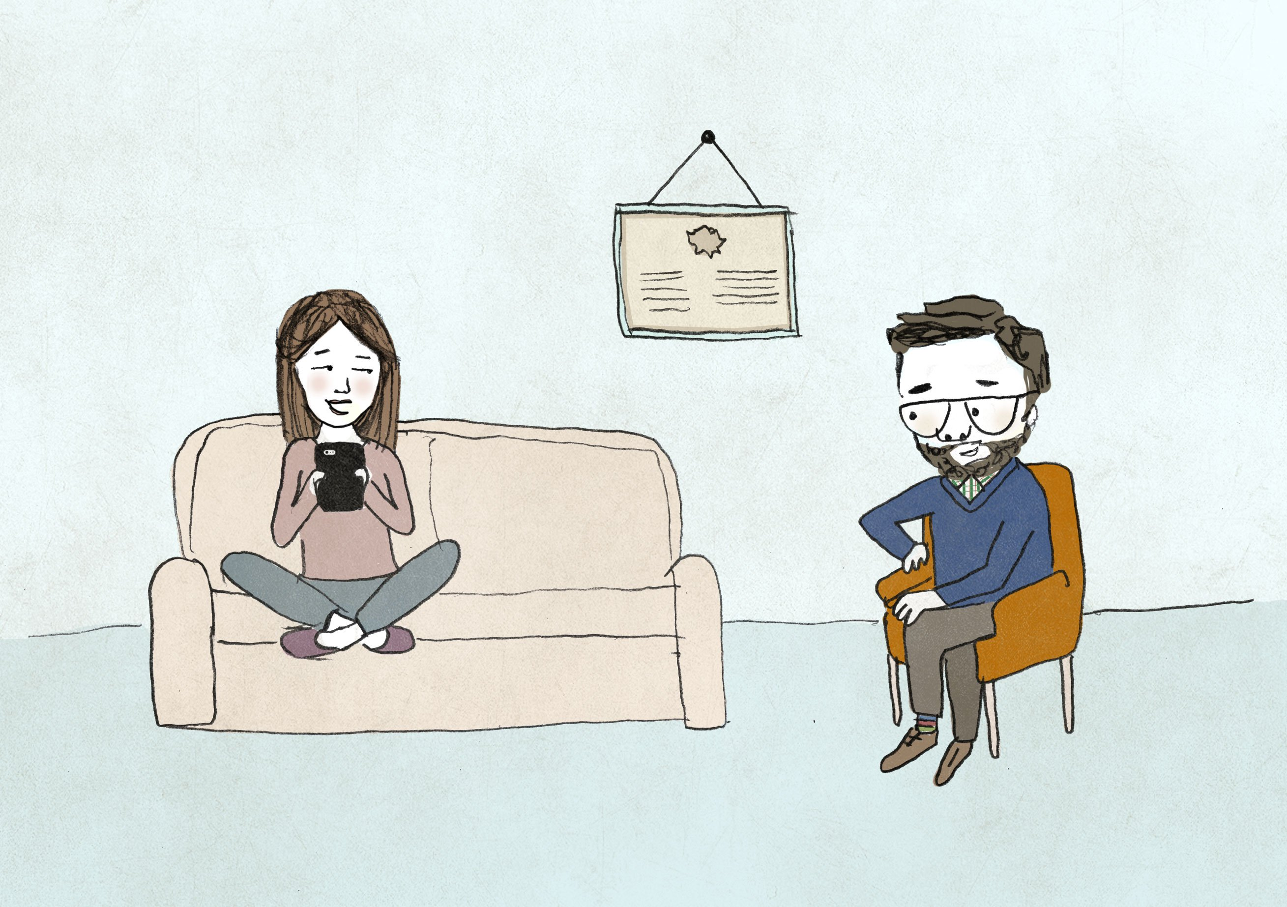 Online dating therapist