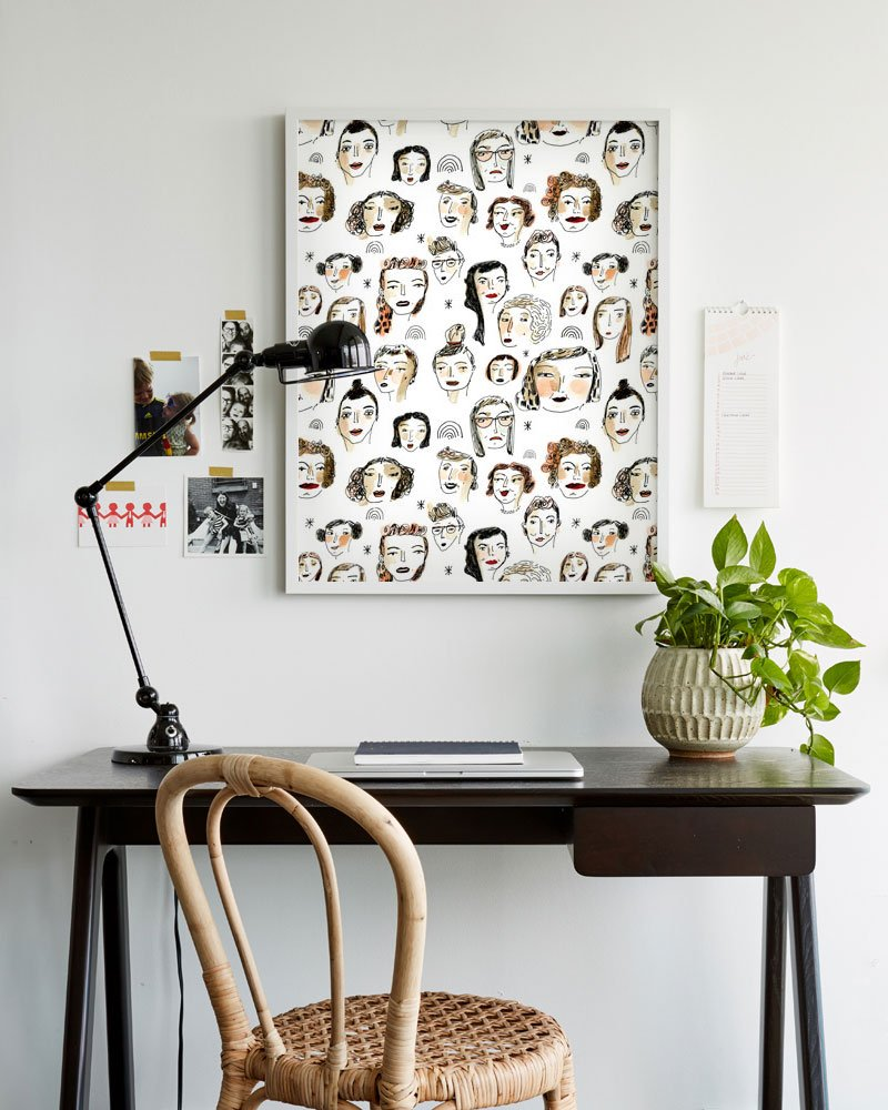 An affordable wallpaper trick a cup of jo bloglovin for Affordable wallpaper