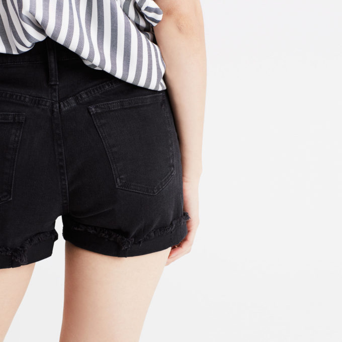 Best Black Denim Shorts