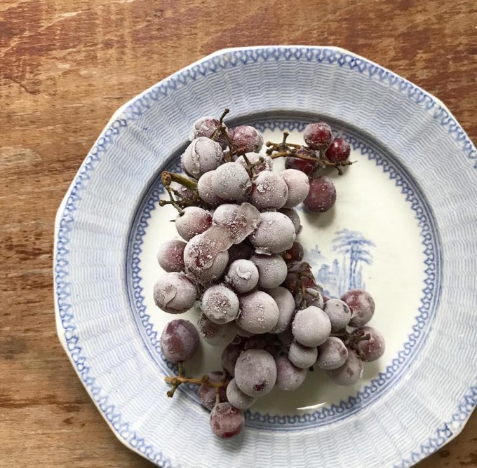 Frozen grapes are the best summer snack (Photo by Julia Turshen)