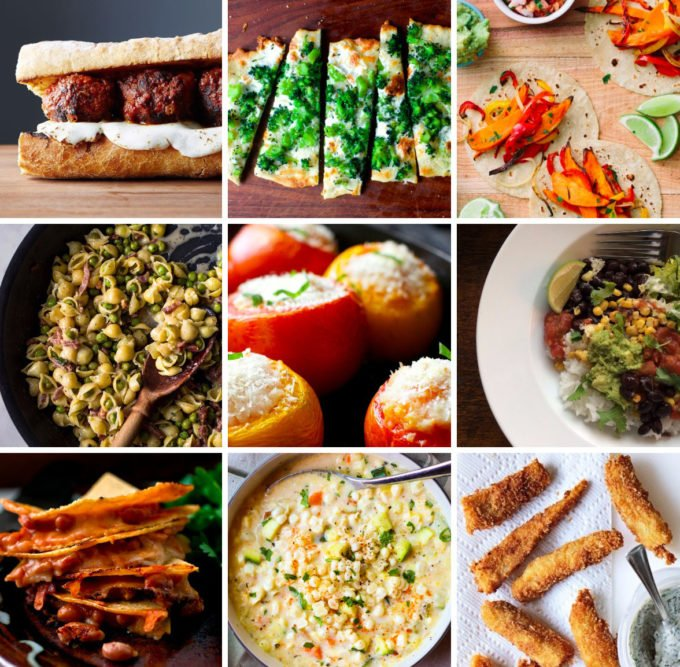 9 Easy Family Dinners