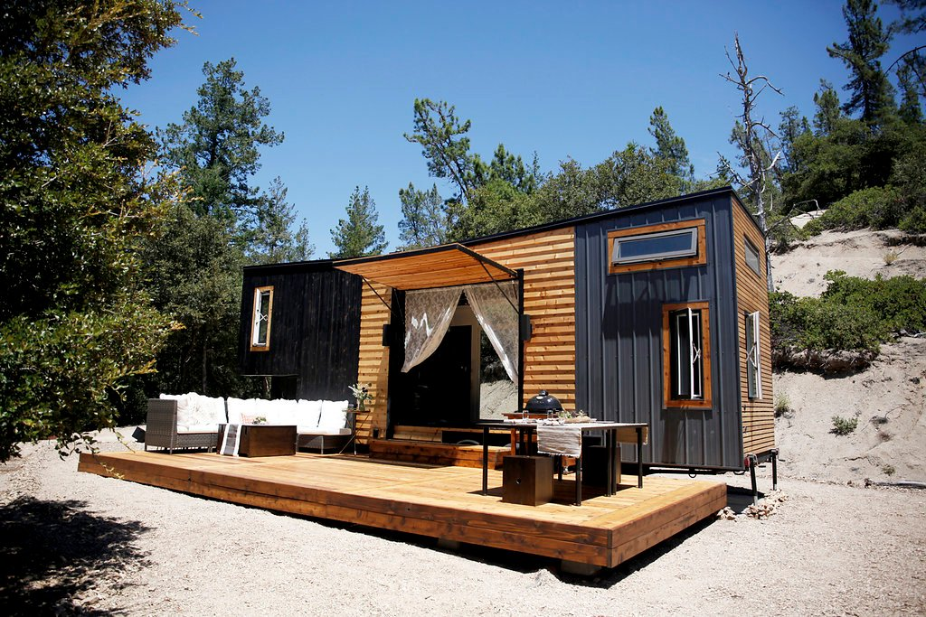 A 300-Square-Foot Tiny House In California | A Cup Of Jo