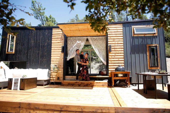 Tiny Home Designs: A 300-Square-Foot Tiny House In California
