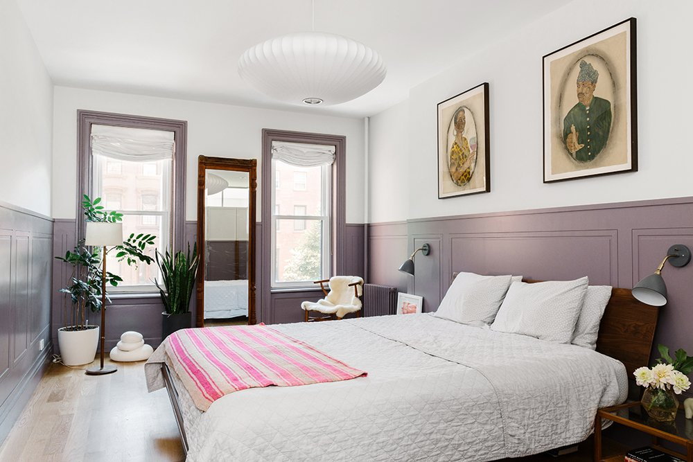 A Purple-Filled Brooklyn Townhouse | A Cup of Jo