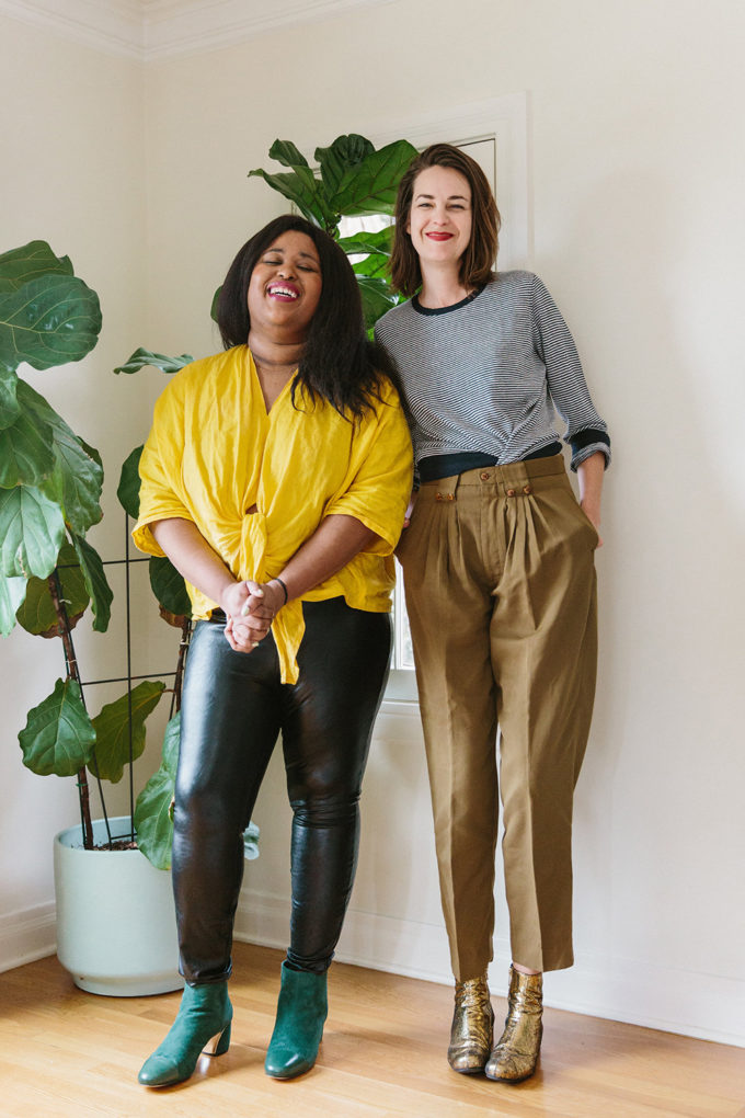 A Week of Outfits: Aminatou Sow and Ann Friedman From Call Your Girlfriend