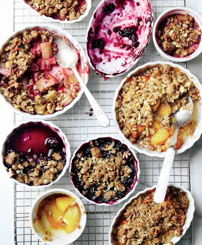 Whatever-You-Fancy Fruit Crumble