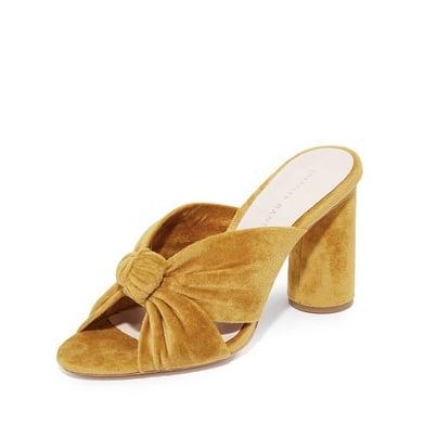 Loeffler Randall Yellow Heels