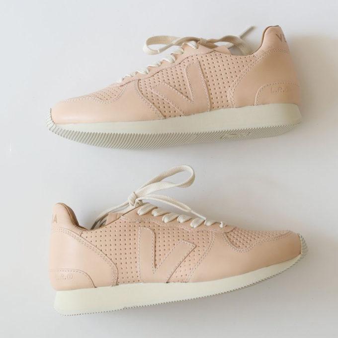 Pink Veja Sneakers