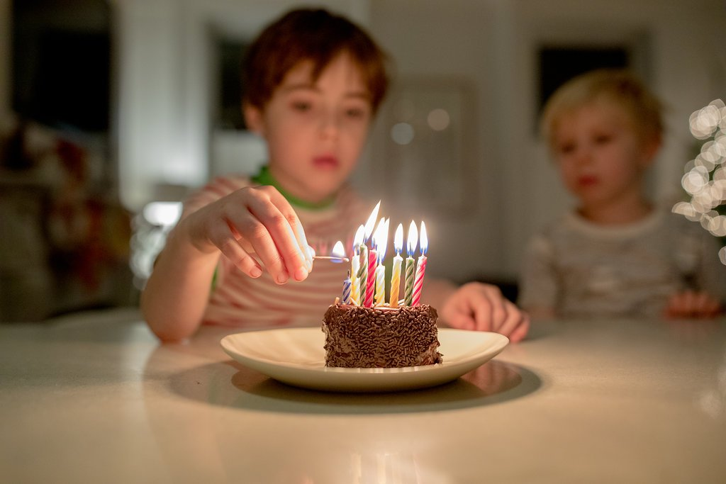 A Half Birthday Cake