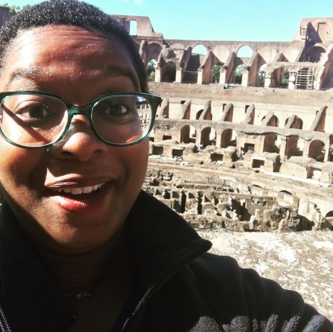 Ashley Ford in Rome