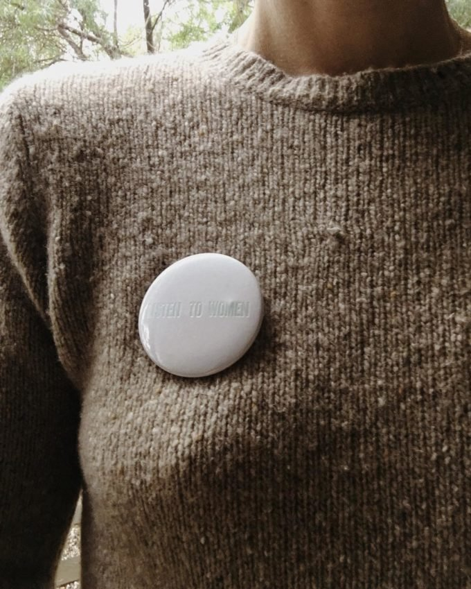 Listen to Women button