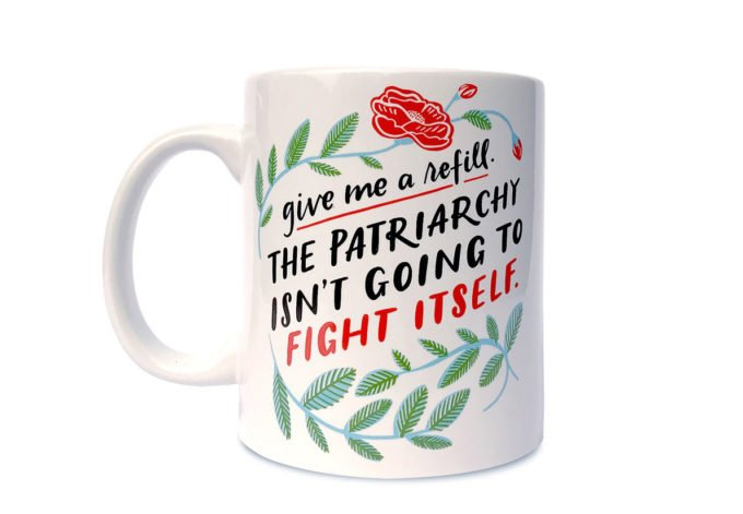Emily McDowell Fight the Patriarchy Mug