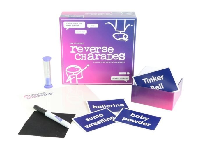 Reverse Charades board game