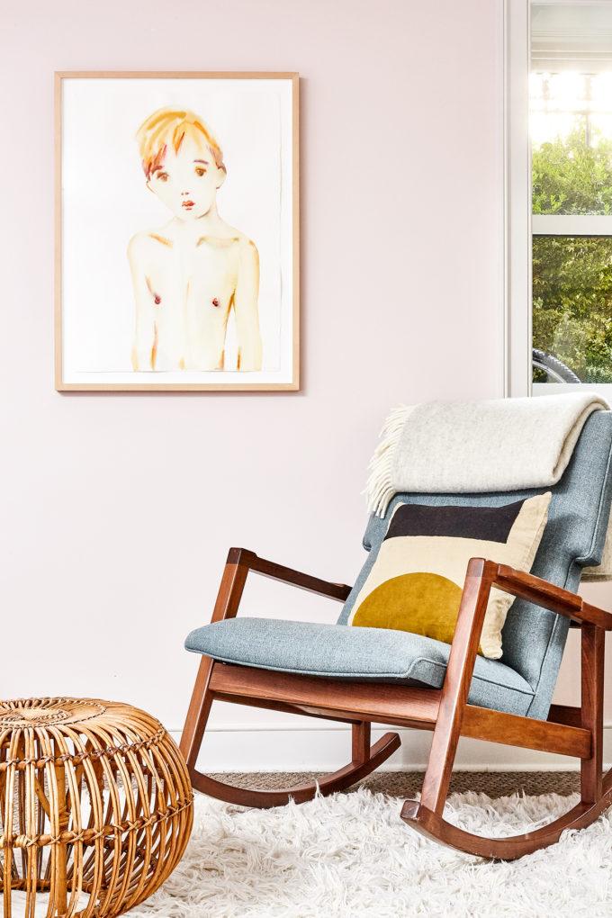 Joanna Goddard pink bedroom