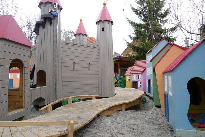 Monstrum Fortress City playground in Denmark