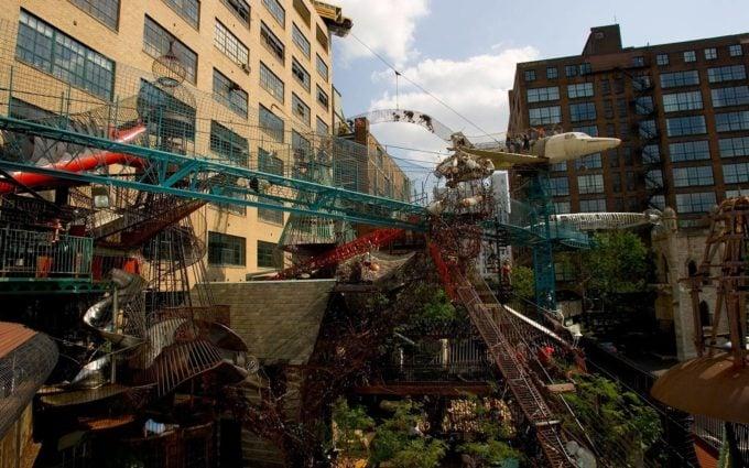 City Museum playground